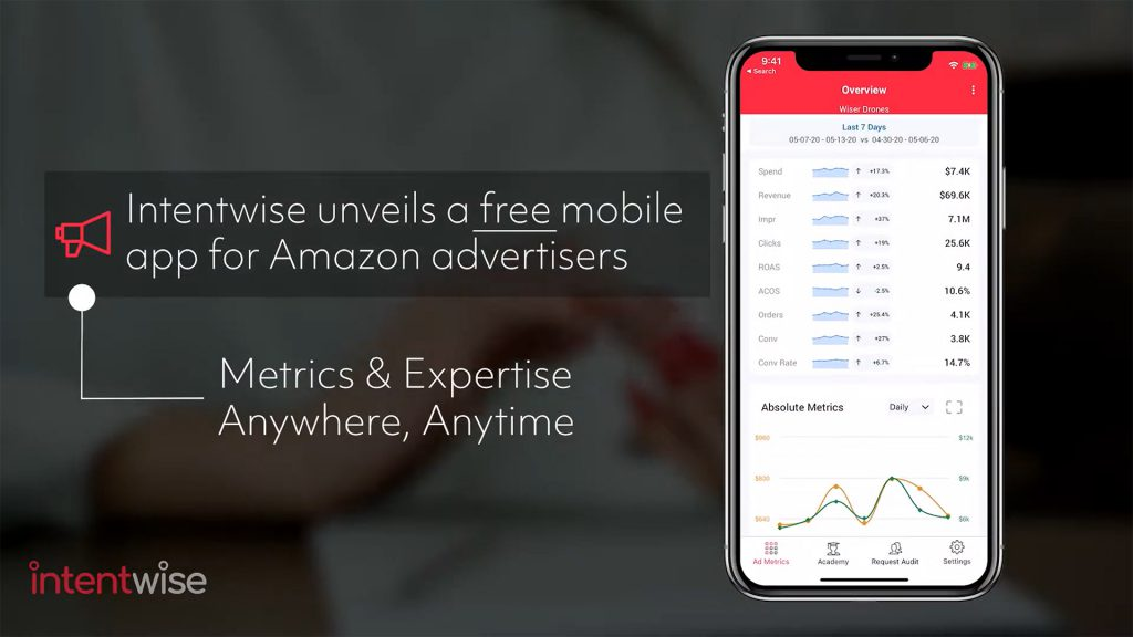 Intentwise Mobile App Promo